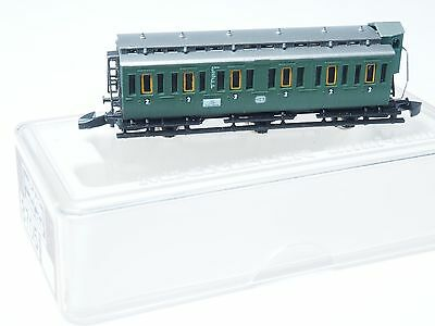 8705 Marklin Z-scale early era DB Passenger Compartment 3 axle Car 2nd. class