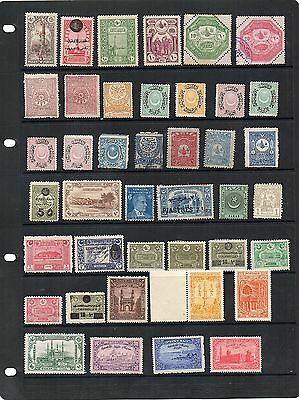 H.Mint and Used - Turkey x 41 stamps