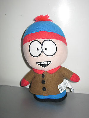 "Rare South Park 7"" Stan Plush  Toy Doll Figure By Nanco"