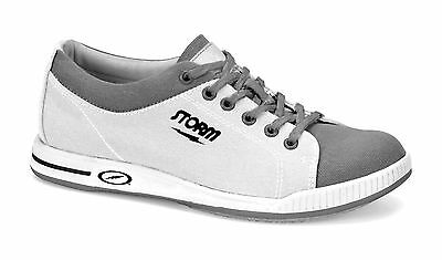 Storm Gust Men's Bowling Shoes White Grey