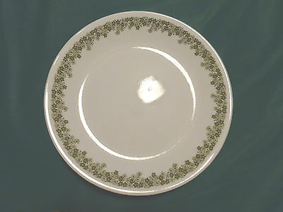 """Lot of 6 Corelle Crazy Daisy Green Flower 8-1/2"""" Salad Lunch Plates"""
