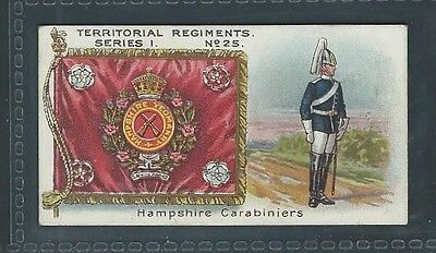 Taddy Territorial Regiments No 25 Hampshire Carabiniers