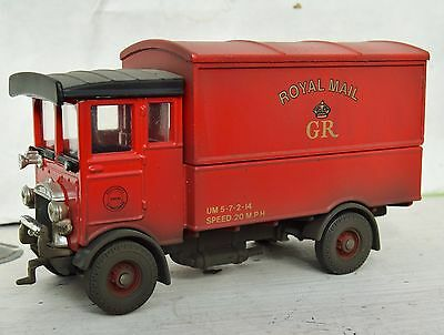 O Gauge  Aec Royal Mail Lorry  Weathered