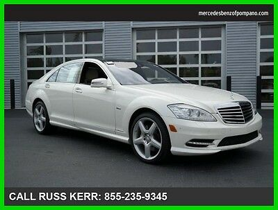 2012 Mercedes-Benz S-Class S550 Premium 2 Sport Navi Camera Clean Carfax 2012 S550 Premium 2 Sport We Finance and assist with Shipping