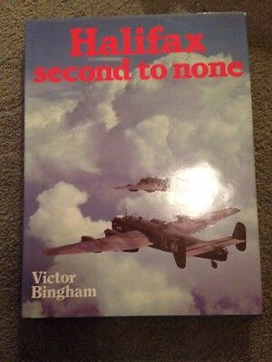 Halifax bomber book Second to None by Victor Bingham