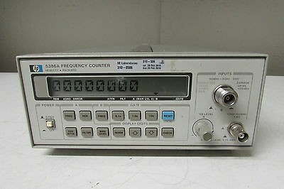 Agilent Keysight 5386A Frequency Counter, 3 GHz, no opt