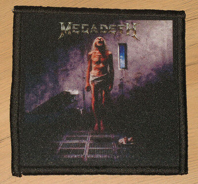 "MEGADETH ""COUNTDOWN TO EXTINCTION"" silk screen PATCH"