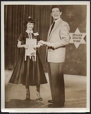 JAN MURRAY 1950's TV Game Show host DOLLAR A SECOND Vintage Orig Photo 8x10