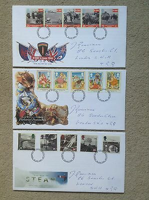 Collection of THREE - First Day Covers FDC - All from 1994