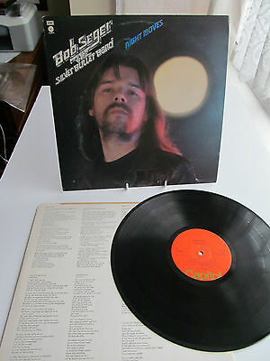 Bob Seger & The Silver Bullet Band - Night Moves. 1986 Capitol Lp With Inner Sl