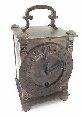 Vintage DAVALL Brass Carriage Clock - G28