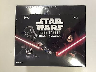 2016 Star Wars  Retail Box By Topps
