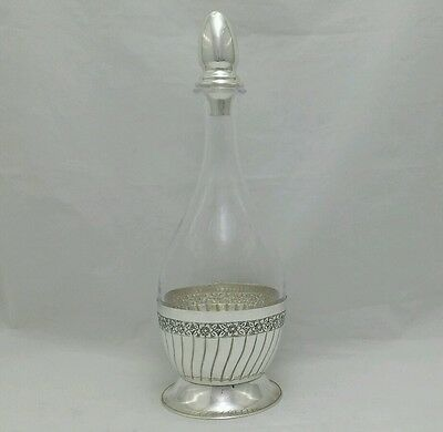 NEW Solid Silver Sterling 925 Wine Decanter Pesach Passover Shabbat  Judaica