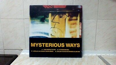"""U2 - Mysterious Ways (12"""" 1991 - 12 Isx 509) + Combi-Band. Sp Only 1.99!!!!"""