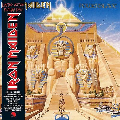 Iron Maiden 'powerslave' Limited Edition Picture Disc Vinyl Lp - New/sealed