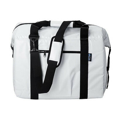 NorChill BoatBag 24 Can Marine Cooler Bag - White Tarpaulin Nor-9000.55