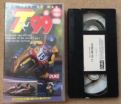 Isle Of Man Tt Review 1999 - Vhs Video