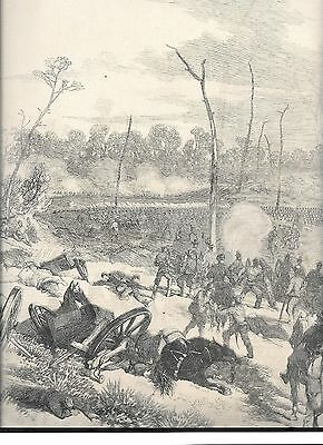 Prints (Civil War In Tennessee )- Very Large Woodblock Print May 17, 1862