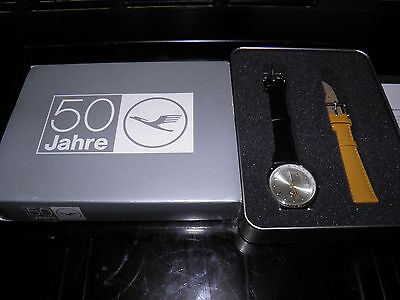 New Lufthansa Airlines boxed 50th anniversary watch