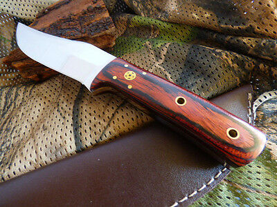 AUS CUSTOM STEEL MOSAIC PIN BLADE KNIFE Timber FILEWORK 24CM BRASS TOOL HUNTING