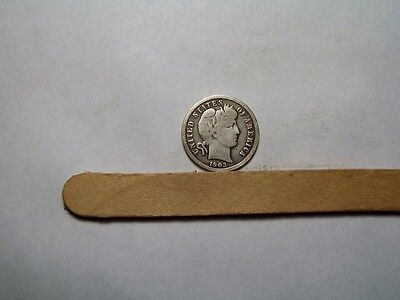 1903-O   Barber Dime    Vg - Fine   Better Date     Free Shipping