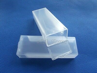 2pcs Microscope Slides Boxes Containers Cases Slice Boxes Mail Boxes