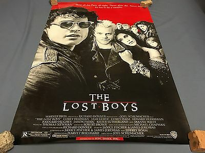 THE LOST BOYS movie PROMO Poster 1987 Orig 36x24