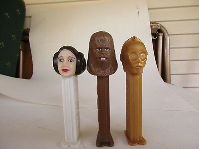 3 Pez Star Wars Characters