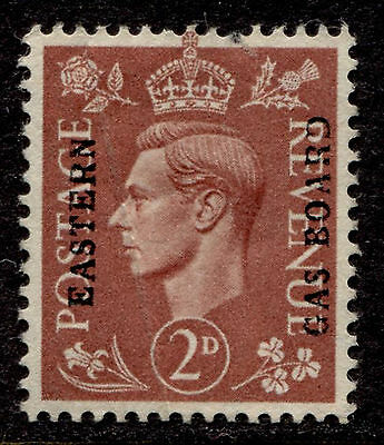 GB 2p George VI, Eastern Gas Board Commercial Overprint