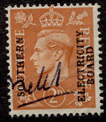 Great Britain 2p KGVI Southern Electricity Board Commercial Overprint Used