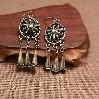 3 PAIRS Wholesale FOLKVISION ETHNIC TRIBAL MIAO HANDMADE EARRINGS / JE227
