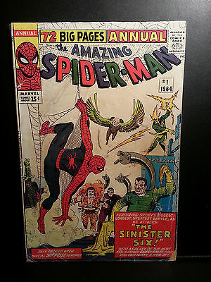 Amazing Spider-Man Annual #1 1st Sinister Six Appearance! Like 2 3 4 9 13 15