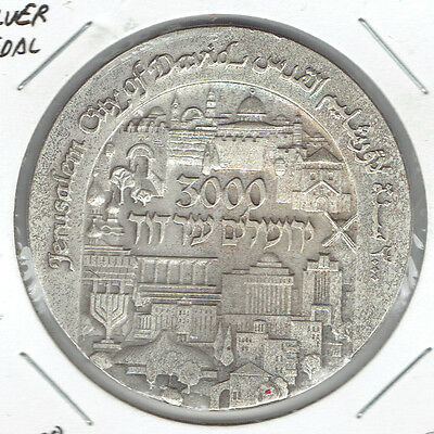 Israel 1995 3000th Anniversary of Jerusalem State Medal