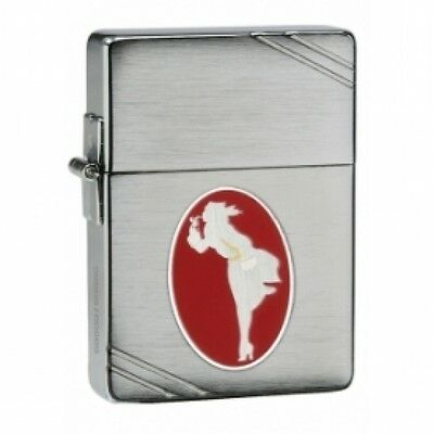 Zippo 1935 Replica Windy Collectible Of The Year Brushed Chrome Lighter