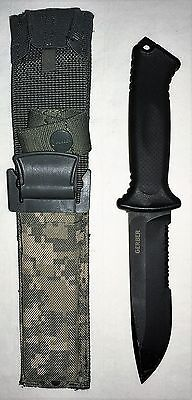 """US Military Gerber 5"""" Fixed Blade Combat Knife w/ Quick Release Sheath 0870314B"""