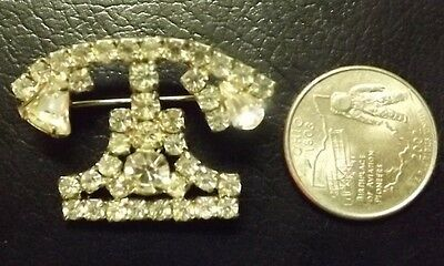VINTAGE 1960s BELL TELEPHONE SYSTEMS PIN BROOCH JEWELRY South Southern SCARCE