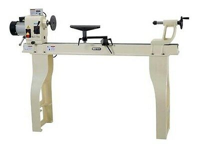 "Shop Fox 16"" x 46"" HD Stationary Wood Lathe 2 HP Variable Speed 287 Lbs 110V New"