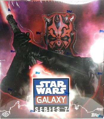 Star Wars GALAXY SERIES 7 Trading Cards Sealed hobby BOX Topps Sketchagraphs