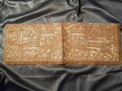 Another Antique  Lace Wallet Pochette  Embroidery  Silk Satin  Carlin New York
