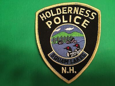 Holderness New Hampshire  Police  Shoulder Patch