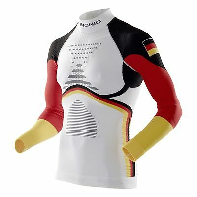 X-Bionic Ski Man Patriot Accumulator Evo Shirt Germany Funktionsshirt langarm we