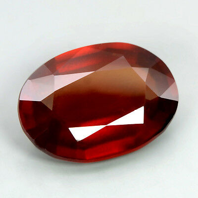 7.60 Ct Natural Unheated Oval Hessonite Garnet