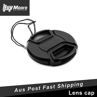 62mm Snap-on Front Lens Cap For Canon Sony Nikon Pentax Panasonic Tamron camera