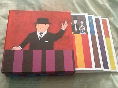 David Mckee Signed Boxed Set Of Mr Benn Books - Ltd Edition Rrp £95
