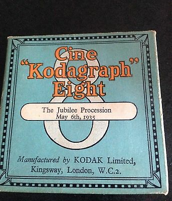 original old cine kodagraph eight - the jubilee procession may 5th 1935