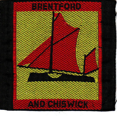 Boy Scout Badge Ext BRENTFORD and CHISWICK District