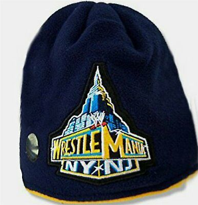 WWE Wrestlemania NY NJ Beanie Hat New Winter Authentic WWE 2013