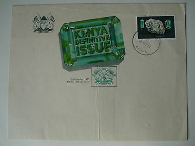 Kenya First Day cover - 2/- Definitive Issue  (December 1977)