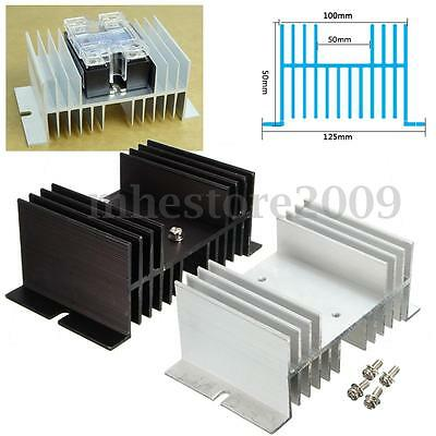 Auminum Alloy Heat Sink For Solid State Relay SSR Heat Dissipation Up To 40A
