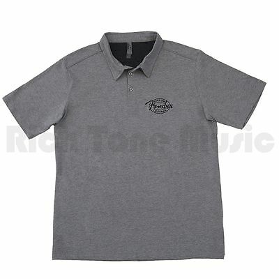 Fender Industrial Polo Gry M